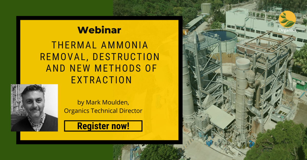 ammonia removal from wastewater webinar